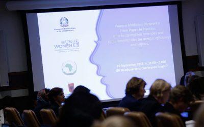 Les réseaux de femmes médiatrices : du papier à la pratique. Comment renforcer les synergies et les complémentarités pour optimiser leur efficacité et leur impact