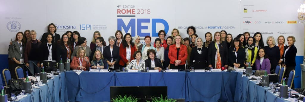 The MWMN at the Women's Forum of the MED 2018 Conference