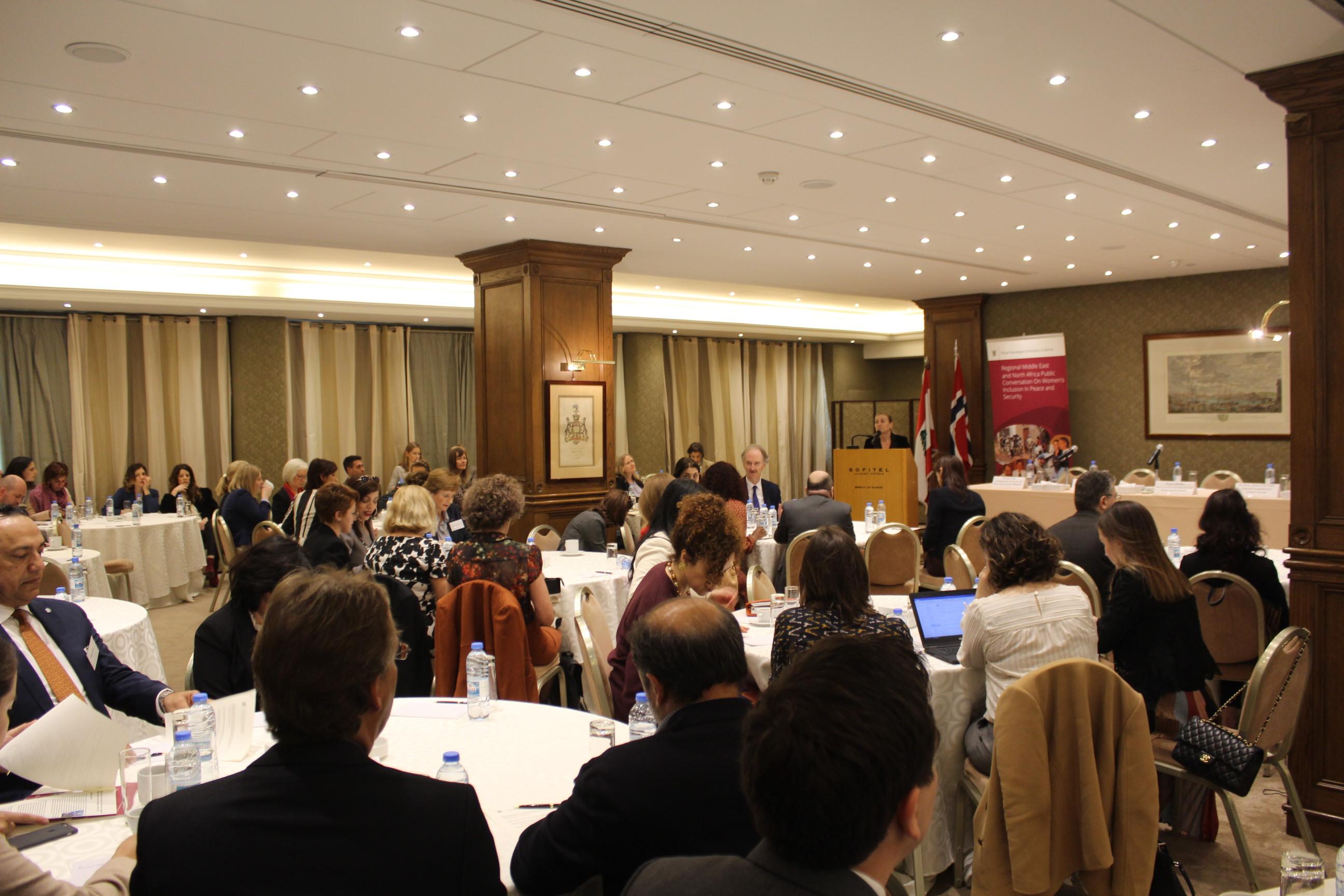 Women Mediators meet in Lebanon