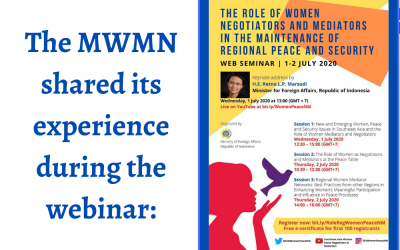 The Role of Women Negotiators and Mediators in Maintenance of Regional Peace and Security