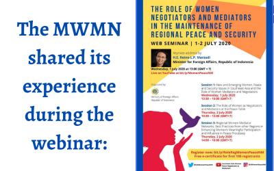 Le rôle des femmes négociatrices et médiatrices dans le maintien de la paix et de la sécurité de la région.