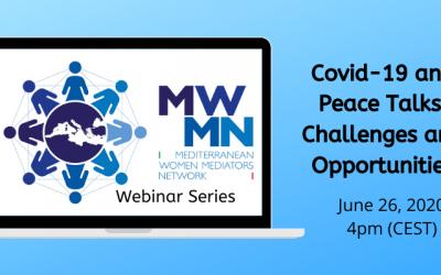 Série de webinaires du RFMM – Le COVID-19 et les pourparlers de paix : défis et opportunités