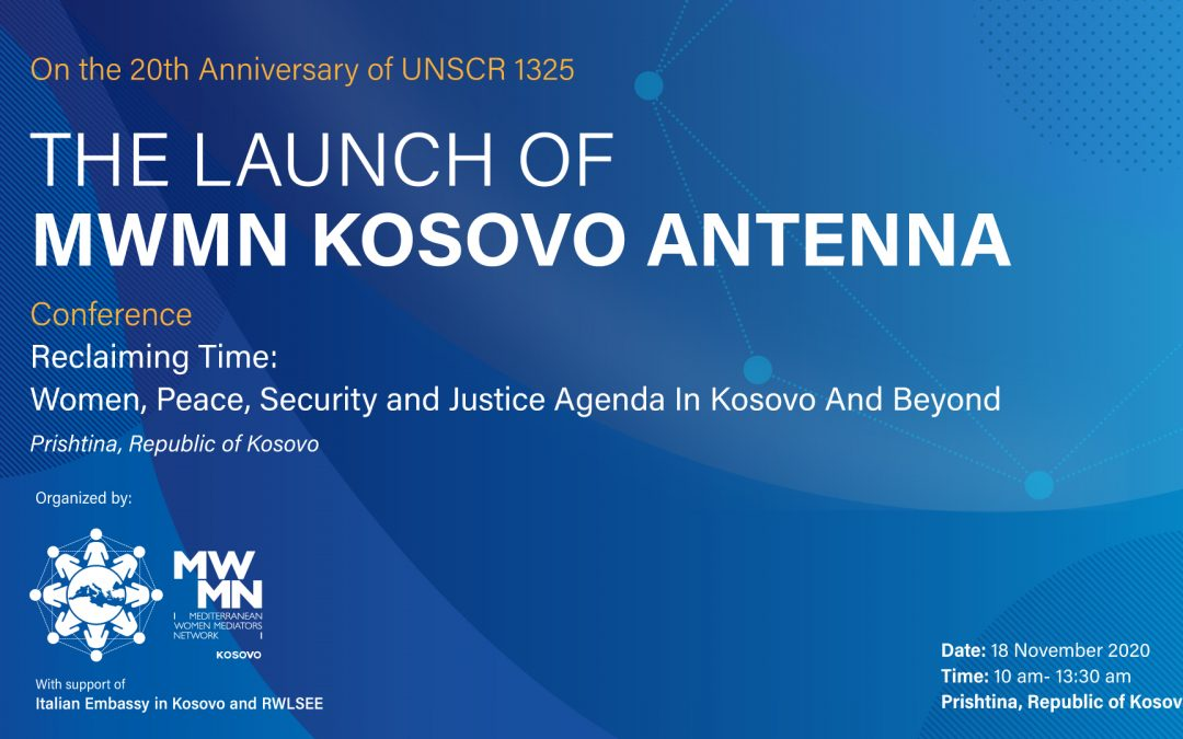 Launch of the Kosovo Antenna of the MWMN